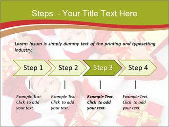 Three children in Christmas PowerPoint Templates - Slide 4