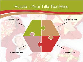 Three children in Christmas PowerPoint Templates - Slide 40