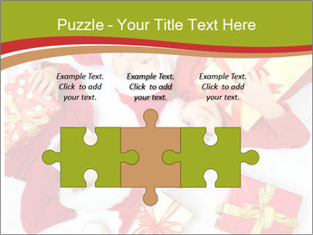 Three children in Christmas PowerPoint Templates - Slide 42