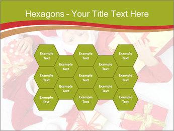 Three children in Christmas PowerPoint Templates - Slide 44