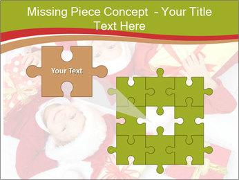 Three children in Christmas PowerPoint Templates - Slide 45