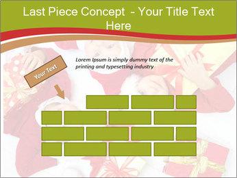 Three children in Christmas PowerPoint Templates - Slide 46
