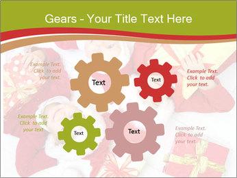 Three children in Christmas PowerPoint Templates - Slide 47
