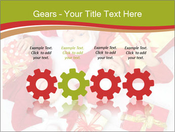 Three children in Christmas PowerPoint Templates - Slide 48