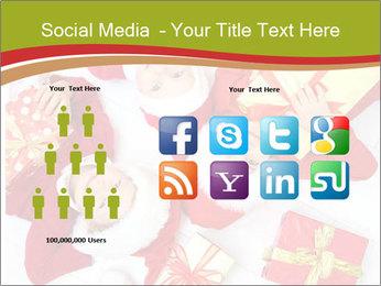Three children in Christmas PowerPoint Templates - Slide 5