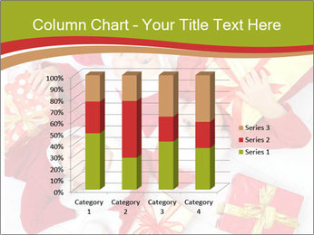 Three children in Christmas PowerPoint Templates - Slide 50