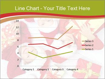 Three children in Christmas PowerPoint Templates - Slide 54