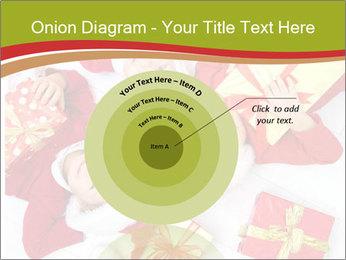 Three children in Christmas PowerPoint Templates - Slide 61