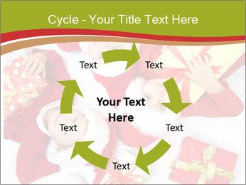Three children in Christmas PowerPoint Templates - Slide 62