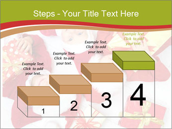 Three children in Christmas PowerPoint Templates - Slide 64