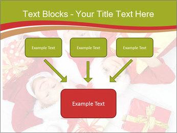 Three children in Christmas PowerPoint Templates - Slide 70