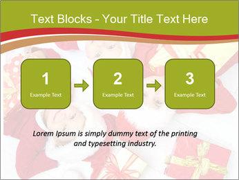 Three children in Christmas PowerPoint Templates - Slide 71