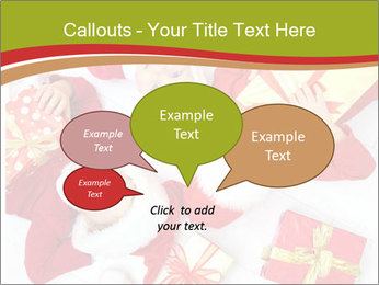 Three children in Christmas PowerPoint Templates - Slide 73