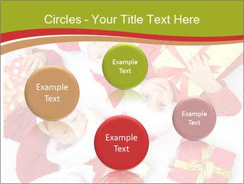 Three children in Christmas PowerPoint Templates - Slide 77
