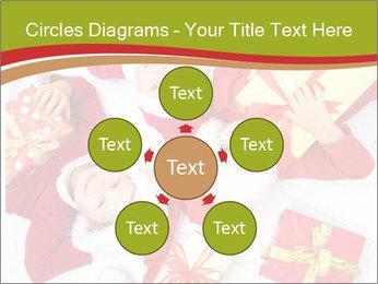 Three children in Christmas PowerPoint Templates - Slide 78