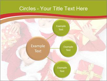 Three children in Christmas PowerPoint Templates - Slide 79