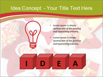 Three children in Christmas PowerPoint Templates - Slide 80