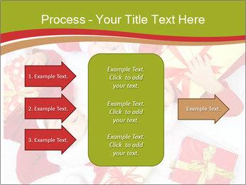 Three children in Christmas PowerPoint Templates - Slide 85