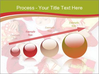 Three children in Christmas PowerPoint Templates - Slide 87