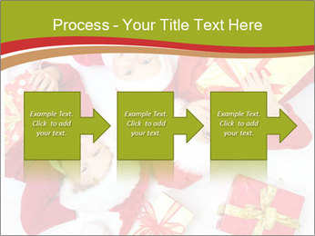 Three children in Christmas PowerPoint Templates - Slide 88