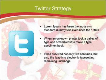 Three children in Christmas PowerPoint Templates - Slide 9