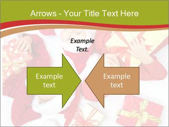 Three children in Christmas PowerPoint Templates - Slide 90