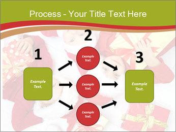 Three children in Christmas PowerPoint Templates - Slide 92