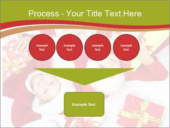 Three children in Christmas PowerPoint Templates - Slide 93