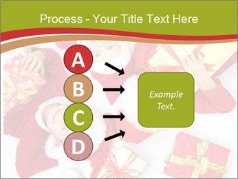 Three children in Christmas PowerPoint Templates - Slide 94