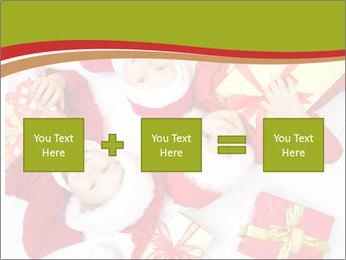 Three children in Christmas PowerPoint Templates - Slide 95