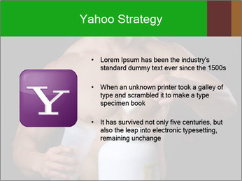 Body Builder pouring a scoop of protein PowerPoint Template - Slide 11