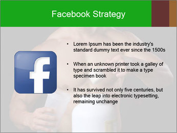 Body Builder pouring a scoop of protein PowerPoint Template - Slide 6