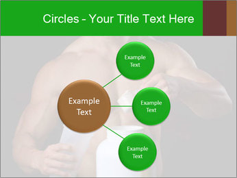 Body Builder pouring a scoop of protein PowerPoint Template - Slide 79