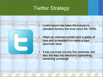 Gas cylinder storage PowerPoint Template - Slide 9