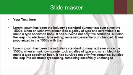 Human radiography scan PowerPoint Template - Slide 2