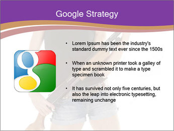 A cowgirl PowerPoint Templates - Slide 10