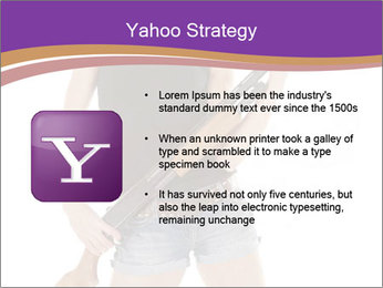 A cowgirl PowerPoint Templates - Slide 11