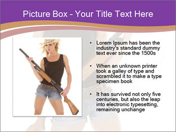A cowgirl PowerPoint Templates - Slide 13