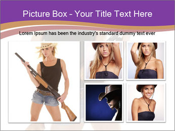 A cowgirl PowerPoint Templates - Slide 19
