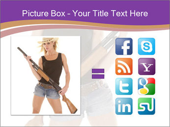 A cowgirl PowerPoint Templates - Slide 21