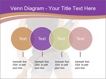 A cowgirl PowerPoint Templates - Slide 32