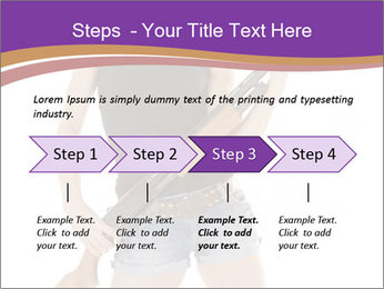 A cowgirl PowerPoint Templates - Slide 4