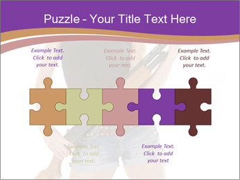 A cowgirl PowerPoint Templates - Slide 41