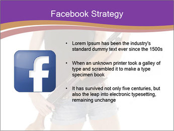 A cowgirl PowerPoint Templates - Slide 6