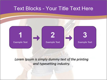 A cowgirl PowerPoint Templates - Slide 71