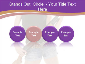 A cowgirl PowerPoint Templates - Slide 76