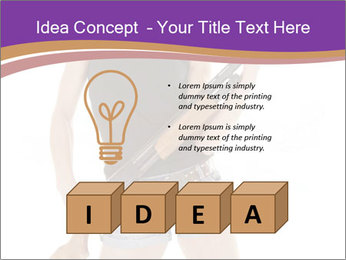 A cowgirl PowerPoint Templates - Slide 80