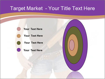 A cowgirl PowerPoint Templates - Slide 84