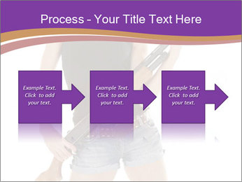 A cowgirl PowerPoint Templates - Slide 88