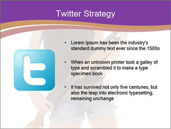 A cowgirl PowerPoint Templates - Slide 9